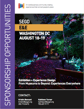 Exhibition & Experience Sponsor Opportunities