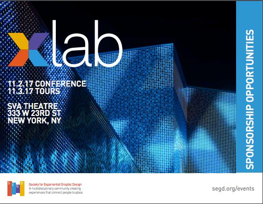 Xlab 2017 Sponsorship Opportunities