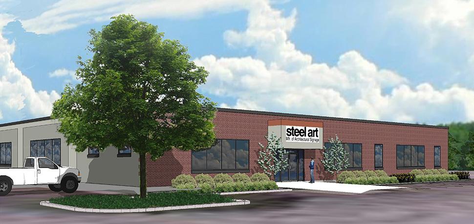 steel art rendering