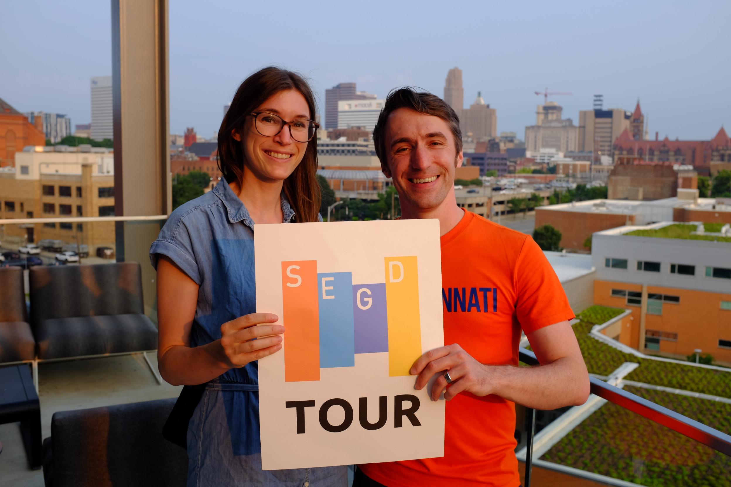 Chapter chairs Lisa Bambach and Blake Kishler