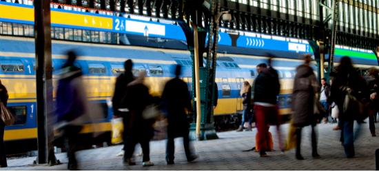 Ultrecht Central Station, Amsterdam