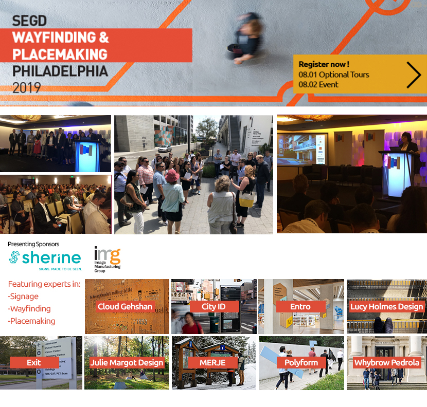 2019 SEGD Wayfinding & Placemaking Header