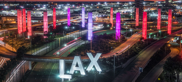 LAX Gateway, photo courtesy of Selbert Perkins Design
