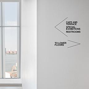 Whitney Museum of American Art Wayfinding
