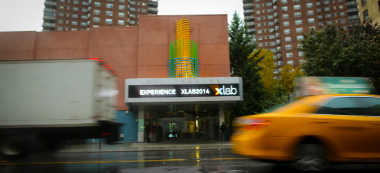 Xlab 2014, Nov. 6 at SVA Theatre, New York