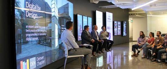 SEGD Denver's Digital by Design Panel Discussion