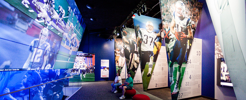 Cambridge Seven Associates Hero - The Hall at Patriot Place, Foxboro, MA