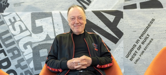 "20 Questions with Lance Wyman, ""Navigating Life"" (image: portrait of Lance Wyman)"