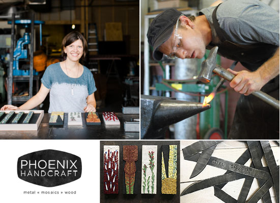 Studio Tour of Phoenix Handcraft