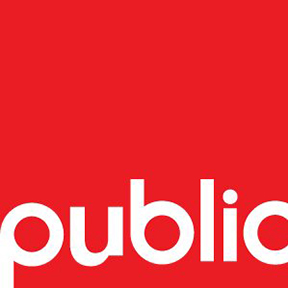 PUBLIC Architecture + Communication Logo