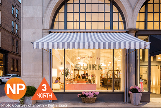 The Quirk Hotel Signage and Architecture Tour