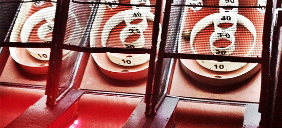 Photo: Skee Ball at Slippery Slope