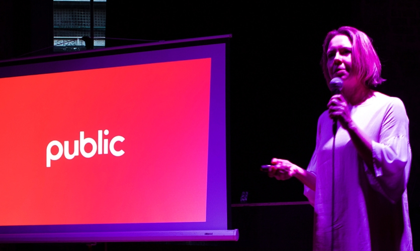 "Susan Mavor, Principal Communication Design and founding partner at PUBLIC shared ""Start an Evolution"" Donor Recognition"