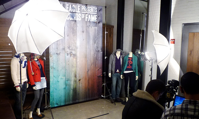 Photo Studio, 15 Seconds of Fame, American Eagle Outfitters, R/GA
