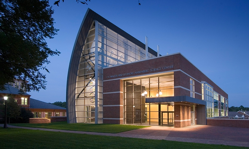 The Walter and Leonore Annenberg Science Center, The Peddie School, Hillier Environmental Graphic Design
