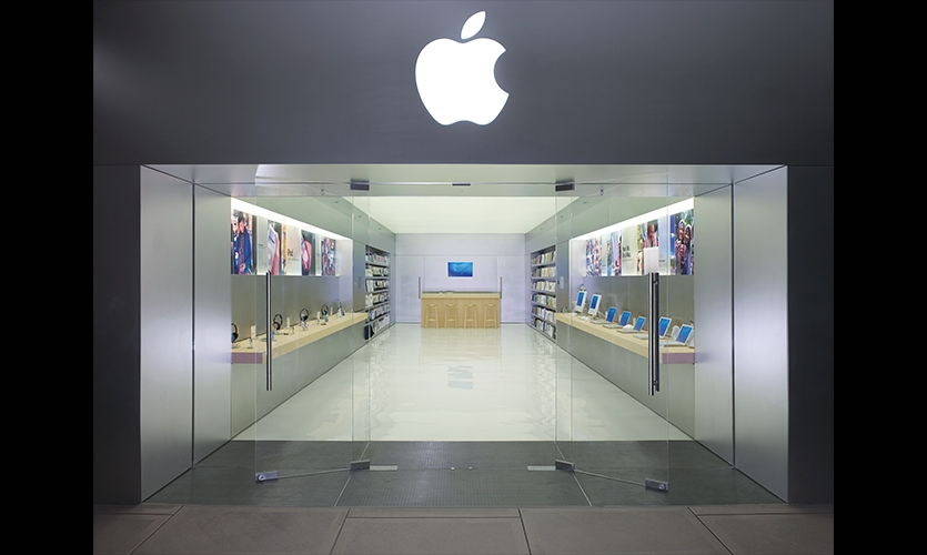 Exterior, Mini Store, Apple Computer