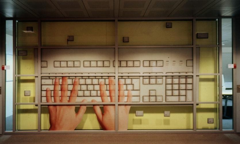 Keyboard Graphic, ArboNed Office Interiors, Bureau Mijksenaar