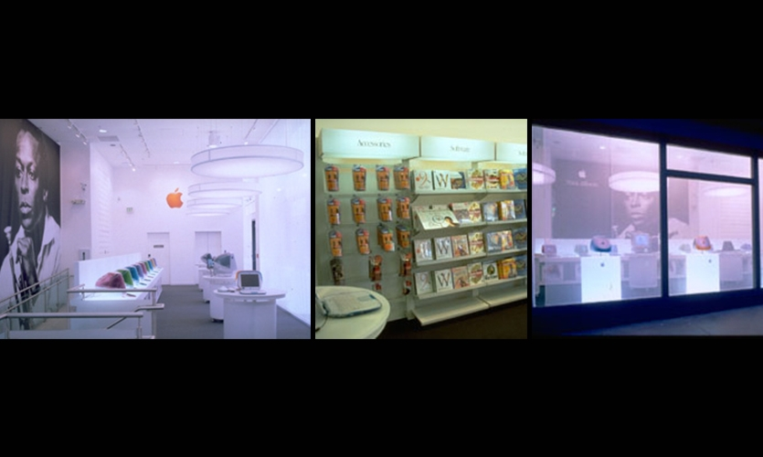 CompUSA San Francisco Store, CompUSA, Apple Computer, marchFirst (formerly US Web/CKS), Eight Inc.