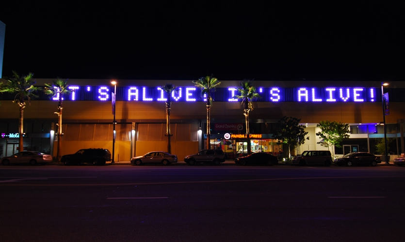 Message in Lights, Drive By, J.H. Snyder Company, Electroland LLC