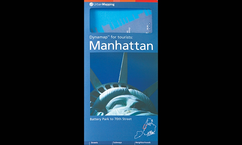 Folded Map, Dynamap: Manhattan, Urban Mapping LLC