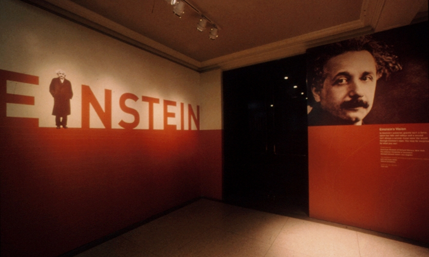 Wall Graphic, Einstein, American Museum of Natural History