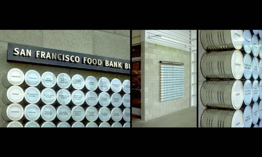 Food Bank Donor Wall Segd