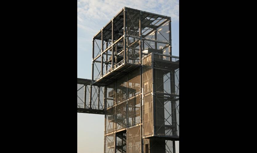 Indemann observation tower segd for Observation tower house plans