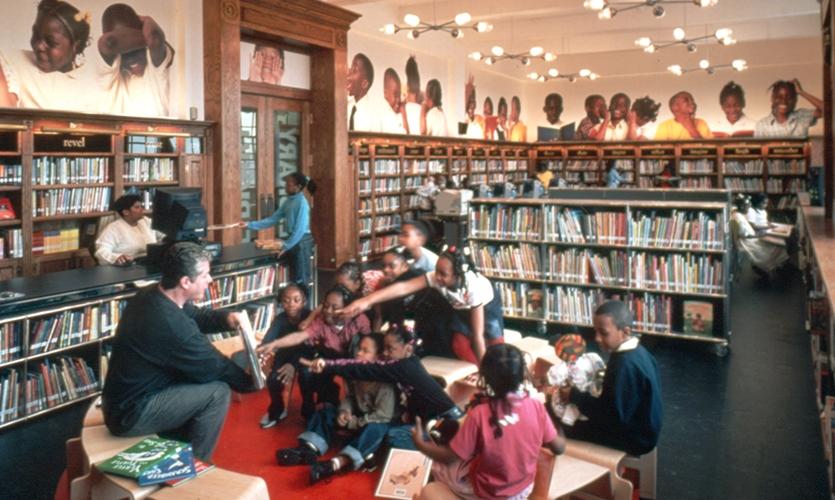 Reading To Children, The L!BRARY Initiative, Robin Hood Foundation, Pentagram