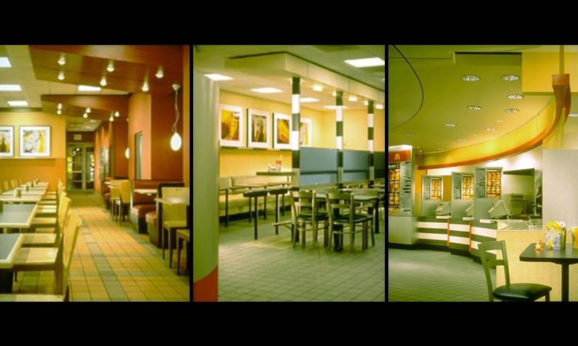 Restaurant Design, McDonald's, Gensler
