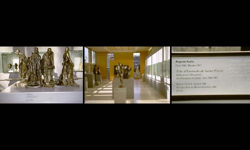Calais Museum's 19th Century Sculpture Room, Musee des Beaux Arts, Ministere De la Culture Direction des Musees de France, Coco Raynes Associates