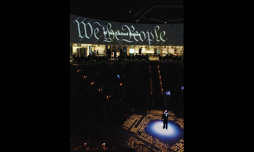Spotlight, National Constitution Center, Ralph Appelbaum Associates
