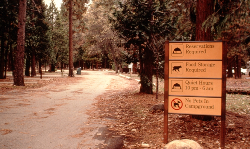 Signage, The NPS UniGuide Program, National Park Service, Meeker & Associates