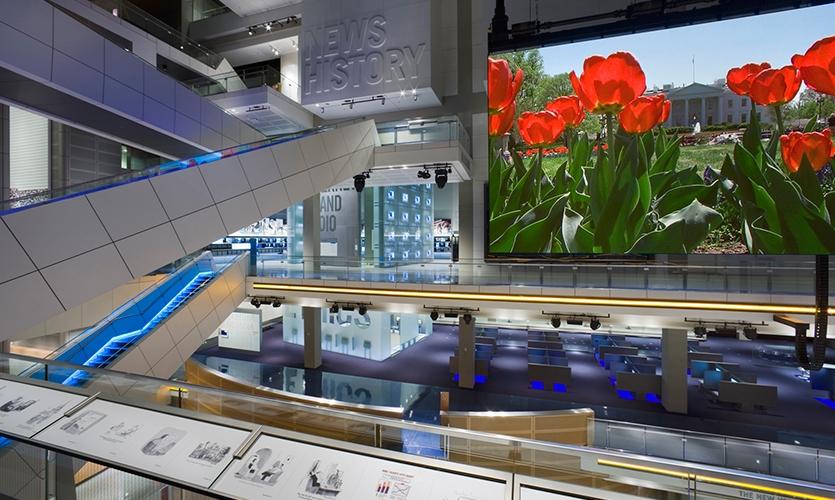 Atrium, Newseum, Ralph Appelbaum Associates