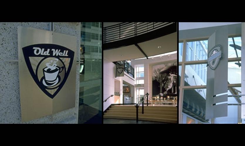 Signage and Wayfinding Program, Nike World Campus North Expansion, Ambrosini Design