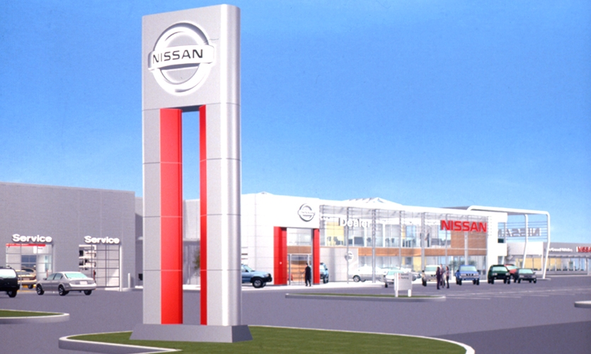Dealership Branding, Nissan, Nissan North America, Lippincott and Margulies