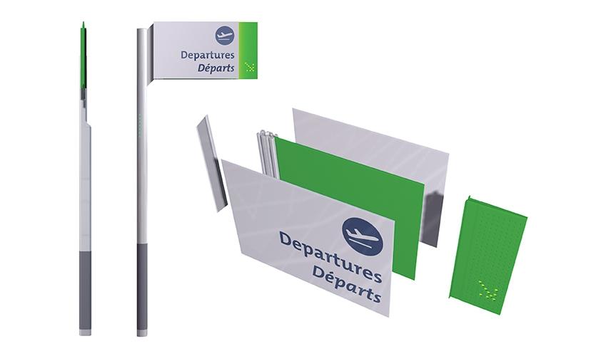 Departures, Ottawa MacDonald - Master Plan, Cartier International Airport Authority, Gottschalk + Ash International