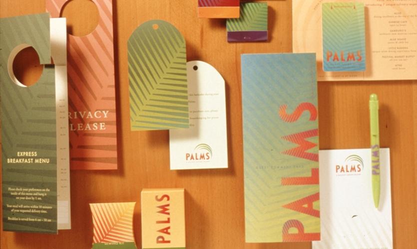 Printed Materials, Palms Casino Resort, Maloof Companies, Sussman/Prejza & Co.