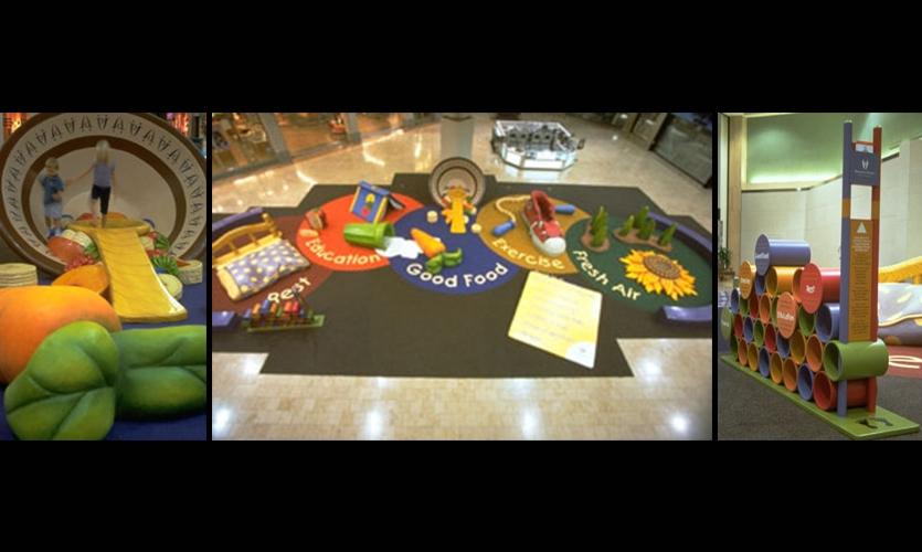 Paradise Valley Mall Children's Playcourt, Westcor Partners, Thinking Caps