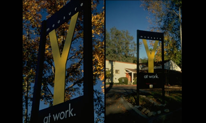 Signage, Pasadena Unified School District, Hunt Design Associates