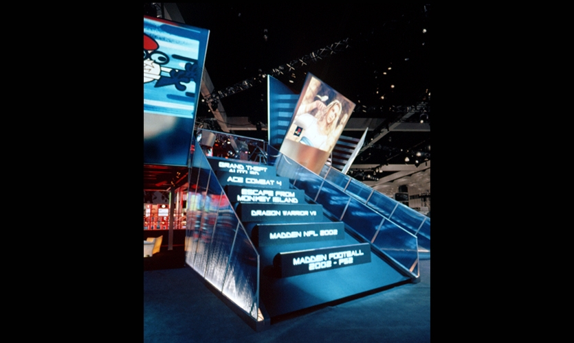 Stairways, Sony Playstation E3 Exhibit, Sony, Mauk Design