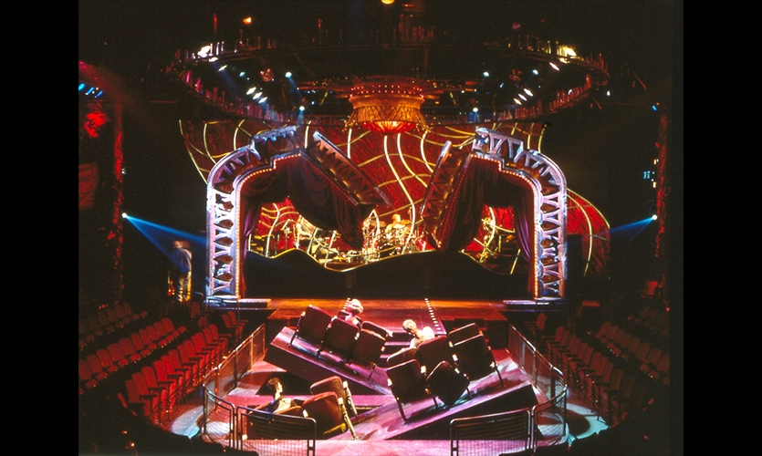 Stage Design, The Rocky Horror Show, Jordan Roth, Rockwell Group
