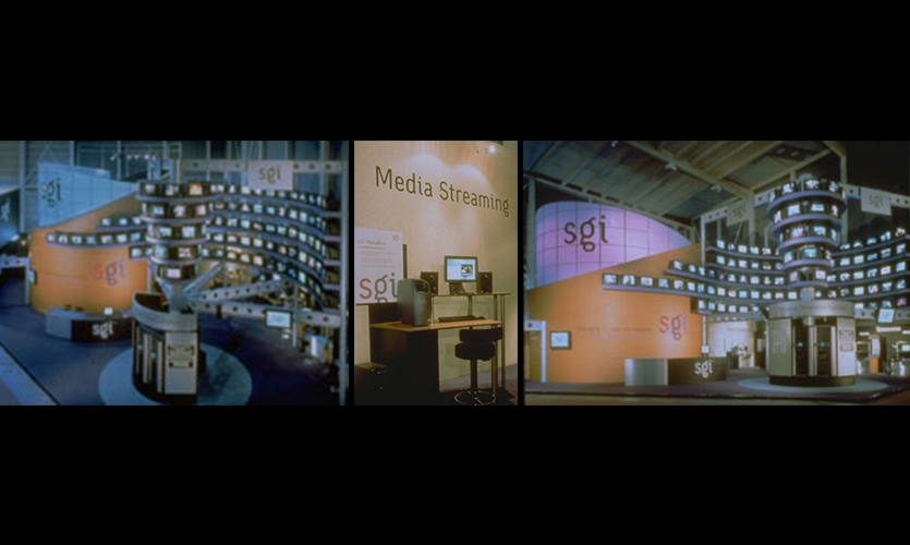 Exhibit Design, SGI - Geneva Telecom '99, Nth Degree