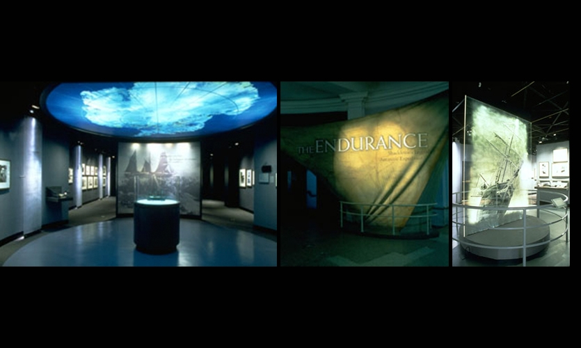 Exhibit Design, The Endurance, American Museum of Natural History, AMNH Exhibition Department