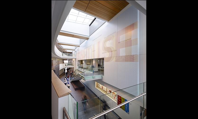 Interior, Syracuse University, Poulin + Morris