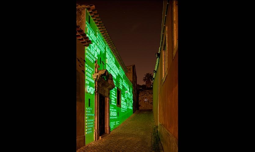 Building Facade at Night, Two Times, Ermida Nossa Senhora da Conceição, R2 Design