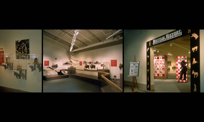 Exhibit Design, Camper Gallery: Whittlin' History, Delaware Agricultural Museum & Village, Ueland Junker McCauley Nicholson