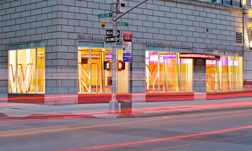 Studio Exterior, WNYC Radio Broadcast Studios, WNYC, Poulin + Morris