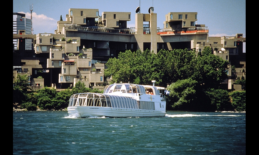 Expo 67 has been called perhaps the best world exposition architecturally. Moshe Safdie's ambitious Habitat 67 modular housing is one of the expo landmarks that remain. (Photo: ©Tourisme Montreal)