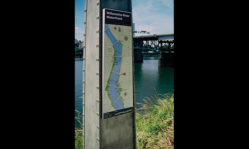 Bicycle Trail Signage and Environmental Graphics | SEGD