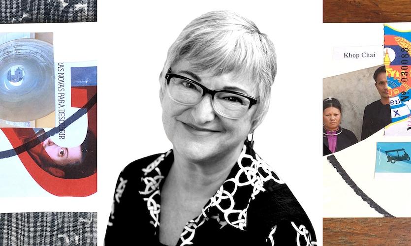 The artist and designer, Diane Burk